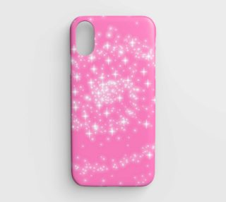 pink spiral sparkles phone preview
