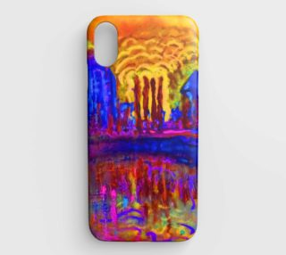 Atomic Arles iPhone XS Case preview