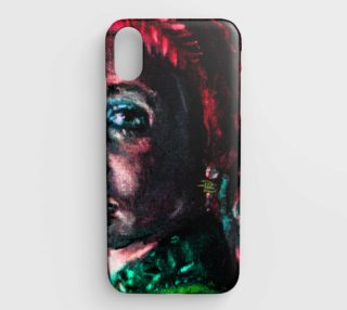 Girl with the Devin Earring  iPhone XS MAX cover aperçu