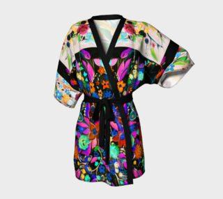 Bohemian Night Garden Kimono Robe preview