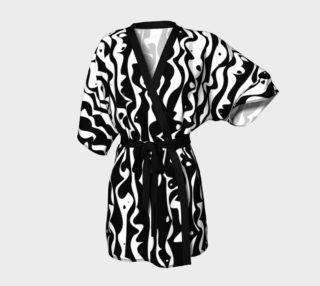 Tiki Inspired Black on White preview