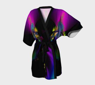 Rainbow Fractal kimono robe preview