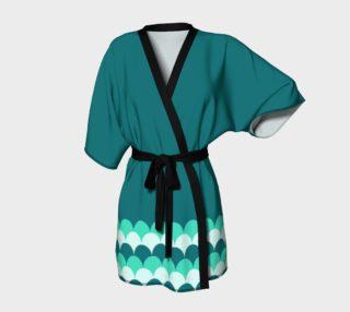 Mermaid Scales Kimono Robe preview