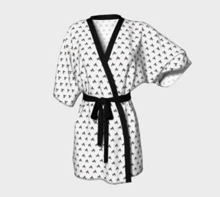 Aperçu de Wild Horse Warriors Kimono Robe