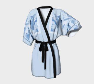 Blue  Kimono Robe preview