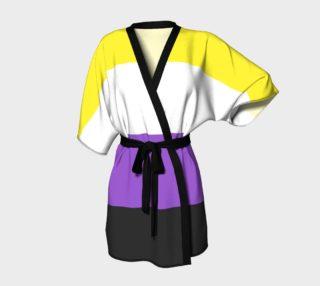 Nonbinary LGBT Kimono Robe preview