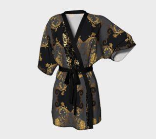 Classic unwind with wine Kimono robe preview
