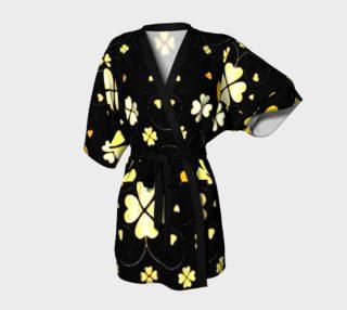 24 karat feeling lucky  Kimono robe preview