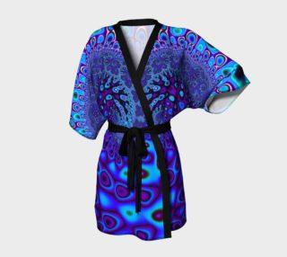Aperçu de Blue wave kimono