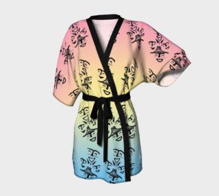 Dancer petroglyph kimono robe preview