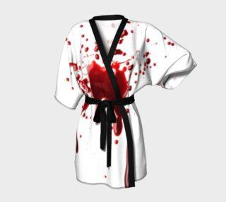 Blood Splatter three kimono robe preview