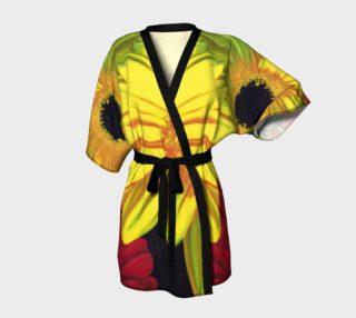 """Aperçu de """"Let There Be Bright"""" Kimono Robe"""