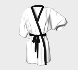 White Kimono Robe preview
