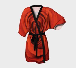 "Aperçu de ""Seeing Red"" Kimono Robe"