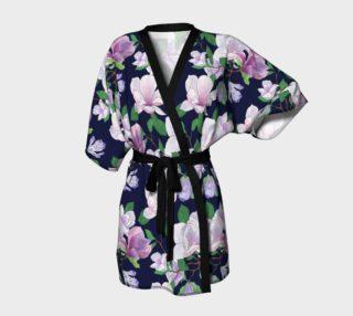 Magnolia Floral Frenzy Kimono Robe preview