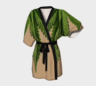 Aperçu de Marijuana Leaf Green and Tan