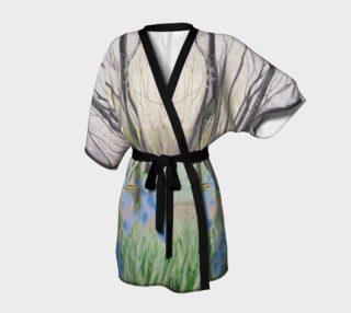 """Aperçu de """"Peace"""" Kimono Robe"""