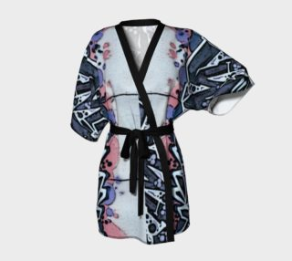 Train Grafitti #4 Kimono Robe preview