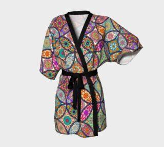Vibrant Mandalas Kimono Robe preview