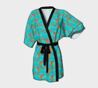 Chrome Mermaid Kimono Robe preview
