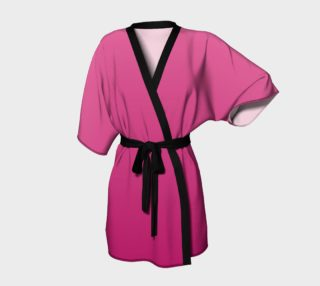 Many Shades of Pink Kimono Robe preview