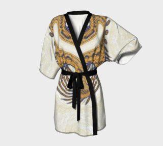 Yoga Woman Victory Symbol Kimono Robe (w/lux-surface look.) preview