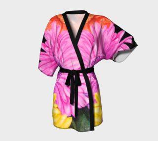 Pink Gerbera Robe preview