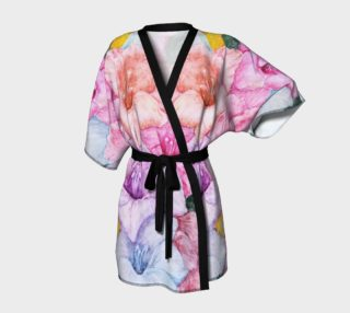 Colorful Gladiola Robe preview