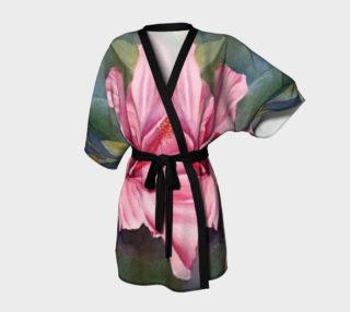 Pink Hibiscus Robe preview