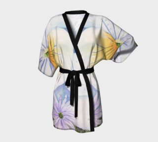 White Pansy Robe preview