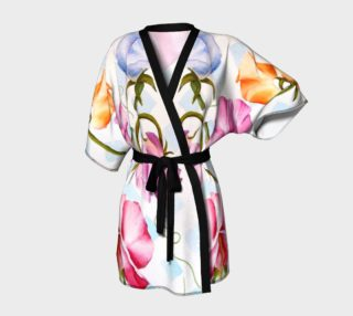 Pink Sweet Peas Robe preview