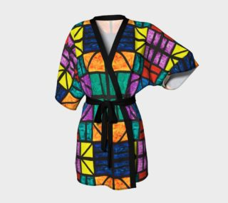 Detroit Stained Glass Kimono Robe preview