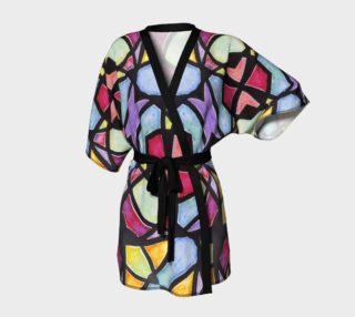 Metro Stained Glass Kimono Robe preview