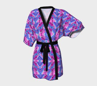Purple Valentine Kimono Robe preview