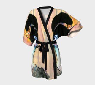 Japanese Rainbow Inspired Geisha Kimono Girl with Tiger Lily  preview