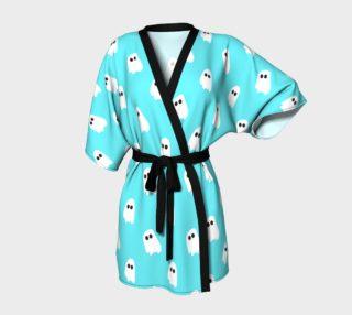 Marshmallow Ghosties Kimono preview