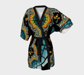 Fractal Butterfly Kimono preview