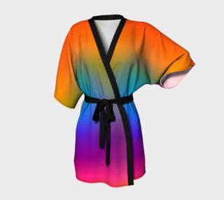 Rainbow Horizon Kimono preview