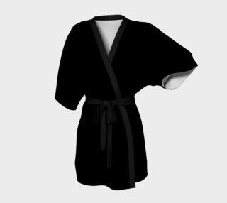 Simply Black Kimono preview