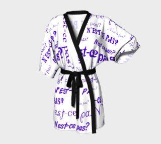 Purple N'est-ce Pas Kimono preview