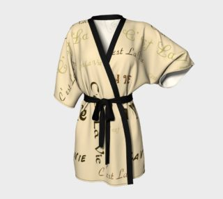 Aperçu de Coffee C'est la Vie Kimono