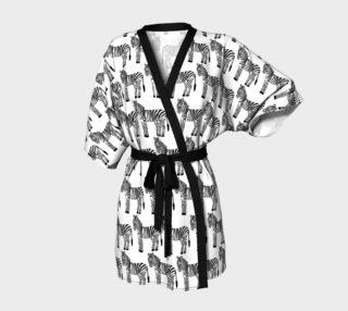 Zebra Kimono preview