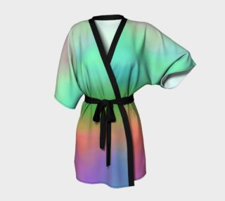 Rainbow Aurora Kimono preview