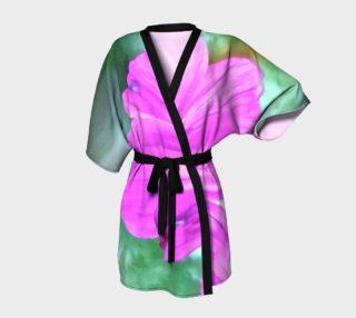 fun pink flower kimono preview