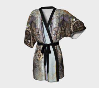 Aperçu de Blue Steam Kimono