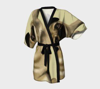 Pug Love Kimono Robe preview