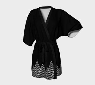 Aperçu de Mama Bear Black Kimono