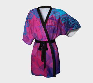 Pink Doodles Kimono Robe preview