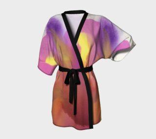 Orchid Flow Kimono robe preview