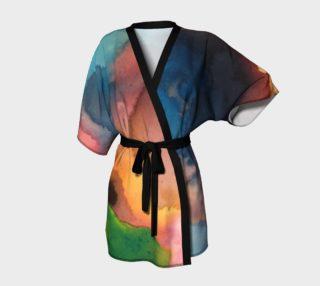 Green Beat Kimono preview